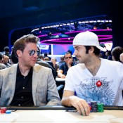 Jason Mercier was among the high-profile pros to survive until Day 2 of the 2012 EPT Grand Final.