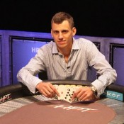 Phil Collins defeated a stacked final table to capture the HPT Palms event.