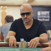 Sam El Sayed has been terrorizing the field at the 2012 WPT Merit Cyprus.