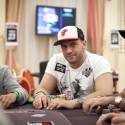 The Grinder finds himself in a familiar WSOP position: at the top of the leaderboard.