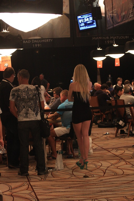 All eyes are on Doyle Brunson (not pictured) making a deep Main Event run.