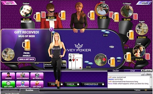 The best part of Ivey Poker: Denise Pernula!