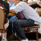 If Phil Ivey binks this tournament, he'll be leaving bricks at his feet once again.