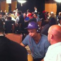 Phil Ivey is not impressed. But he's still in.